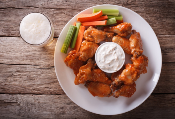 Buffalo Wings with Ranch Dip