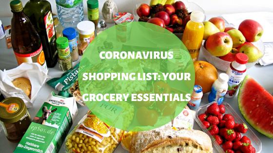 Coronavirus Shopping List: Your Grocery Essentials