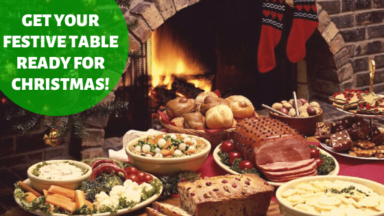 Get Your Festive Table Ready For Christmas!