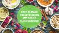 Easy-To-Make Grilled Chicken Shawarma Hummus Bowls!