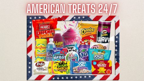 American Treats White Cross