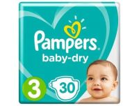 Grocery Delivery London - Pampers Baby-Dry Number 3 30pk same day delivery