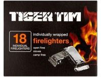 Grocery Delivery London - Tiger Tim Fire Lighters x18 same day delivery