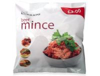 Grocery Delivery London - Wilson's Beef Mince (Frozen) 400g same day delivery