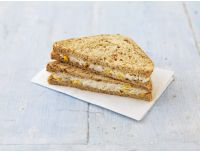 Grocery Delivery London - Chicken and SweetCorn - On Malted Bread with Mayo 2pc same day delivery