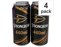 Grocery Delivery London - Strongbow Original 4x440ml same day delivery