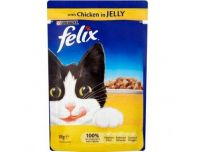 Grocery Delivery London - Felix As Good As It Looks Chicken Pouch 100g same day delivery