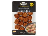 Grocery Delivery London - Delicatessen - Swedish Style Meatballs 200g same day delivery