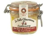 Grocery Delivery London - La Belle Chaurienne Duck Foie Gras 180g same day delivery