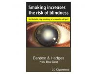 Benson & Hedges New Blue Dual King Size 20 Pack