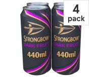 Grocery Delivery London - Strongbow Dark Fruits 4x440ml same day delivery
