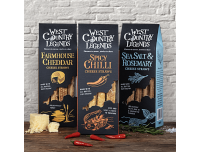 Grocery Delivery London - West Country Legends Double Devonshire & Chive Nibbles 85g same day delivery
