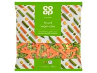 Grocery Delivery London - Co-op Mixed Vegetables 907g same day delivery