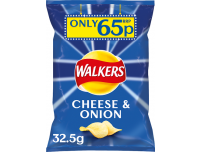 Grocery Delivery London - Walkers Cheese and Onions 32.5g same day delivery