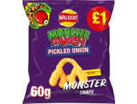 Grocery Delivery London - Walkers Monster Munch Pickled Onion 60g same day delivery