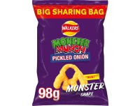 Grocery Delivery London - Walkers Monster Munch Flamin Hot 98g same day delivery