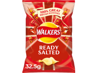 Grocery Delivery London - Walkers Ready Salted Crisps 32.5g same day delivery