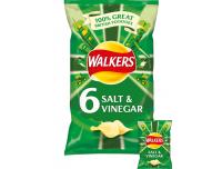 Grocery Delivery London - Walkers Salt & Vinegar 6 pack same day delivery