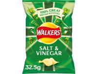 Grocery Delivery London - Walkers Salt And Vinegar Crisps 32.5g same day delivery