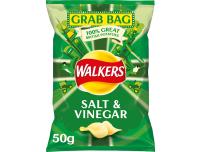 Grocery Delivery London - Walkers Salt & Vinegar 50g same day delivery