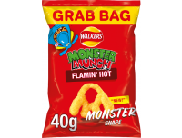 Grocery Delivery London - Walkers Monster Munch Flamin Hot 40g same day delivery