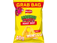 Grocery Delivery London - Walkers Monster Munch Roast Beef 40g same day delivery