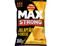 Grocery Delivery London - Walkers Max Strong Jalapeno And Cheese Crisps 150g same day delivery
