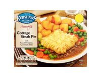 Grocery Delivery London - Kershaws Cottage Steak Pie 400g same day delivery
