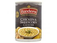 Grocery Delivery London - Baxters Chef Selections Chicken & Sweetcorn Chowder 400g same day delivery