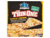Grocery Delivery London - Chicago Town The Thin One - Triple Cheese 355g same day delivery