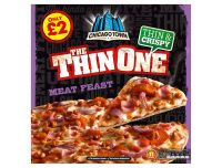 Grocery Delivery London - Chicago Town The Thin One - Meat Feast 355g same day delivery