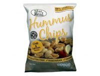 Grocery Delivery London - Eat Real Hummus Chips - Chilli and Lemon - No Sugar, Vegans, Gluten Free 80g same day delivery