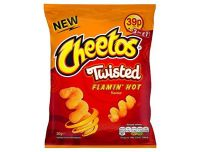 Grocery Delivery London - Cheetos Twisted Flamin' Hot 30g same day delivery