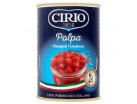 Grocery Delivery London - Cirio Chopped Tomatoes 400g same day delivery