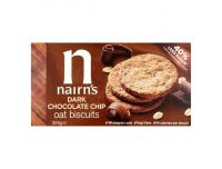 Grocery Delivery London - Nairns Dark Chocolate Chip Oar Biscuits 200g same day delivery
