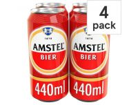 Grocery Delivery London - Amstel Beer 4x440ml same day delivery