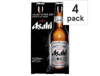Grocery Delivery London - Asahi 4x330ml same day delivery