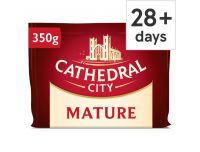 Grocery Delivery London - Cathedral City Mature Chedder 350g same day delivery
