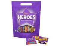 Cadbury Heroes Chocolate Pouch 357g
