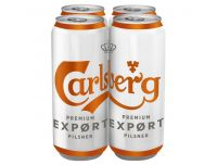 Grocery Delivery London - Carlsberg Export 4x500ml same day delivery