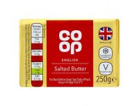 Grocery Delivery London - Co-Op Salted Butter 250g same day delivery