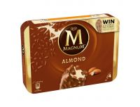 Grocery Delivery London - Magnum Almond Stick 100ml X4 same day delivery