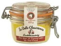 Grocery Delivery London - La Belle Chaurienne Duck Foie Gras 125g same day delivery