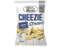 Eat Real Cheezie Starws 113g