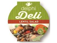 Grocery Delivery London - Delphi Deli - Lentil Salad 220g same day delivery