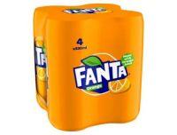 Fanta Multipack 4's