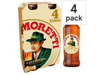 Grocery Delivery London - Birra Moretti 4x330ml same day delivery