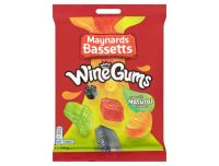 Grocery Delivery London - Maynards Bassetts Wine Gums 165g same day delivery