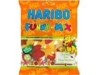 Grocery Delivery London - Haribo Funny Mix - Suitable for Vegetarians 140g same day delivery