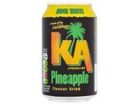 Grocery Delivery London - K.A. Sparkling Pineapple Soda Can 330ml same day delivery